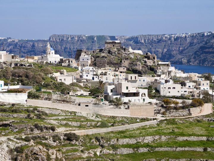 The village Akrotíri