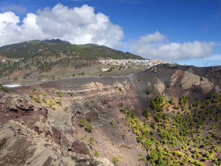 The volcano of St. Antonio