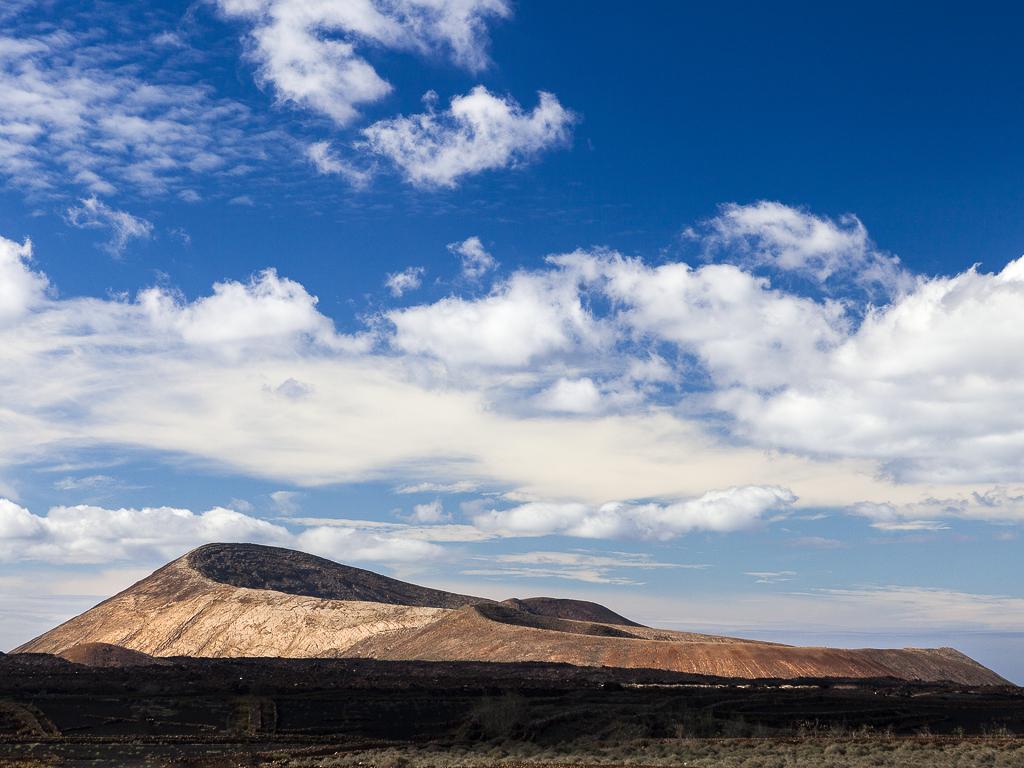 View towards the Caldera Blanca