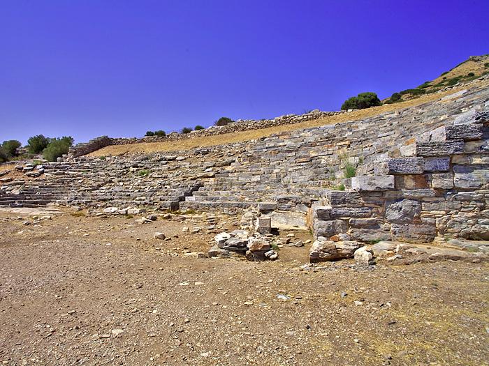Das antike Theater bei Thorikos