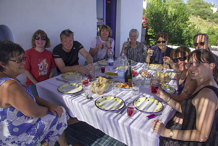 Lunch on the Eolian islands can be a real feast!