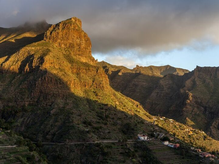 The Masca valley/Tenerife