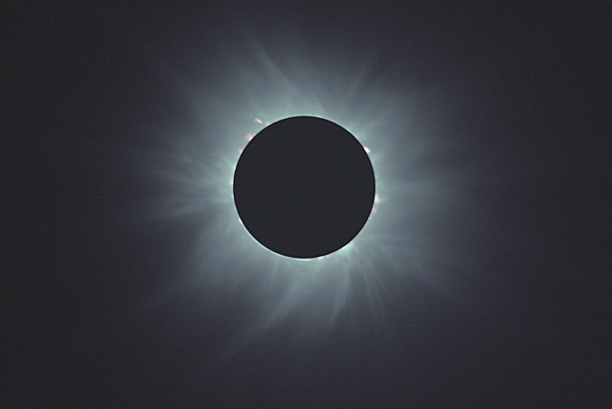 Solar eclipse (photo: Marco Fulle)