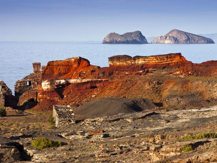 Das alte Bergwerk Vani/Milos