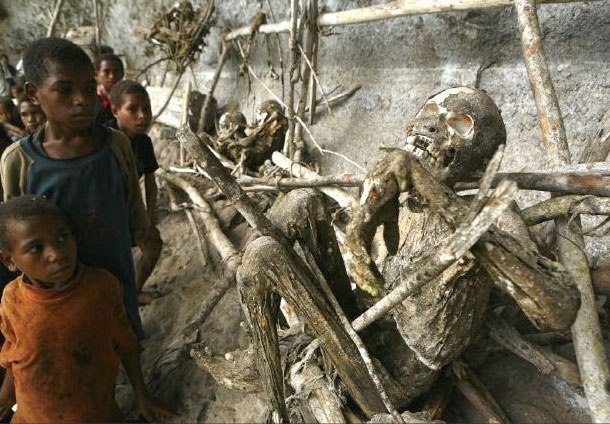 Mummies (photo copyright: Ulla Lohmann)