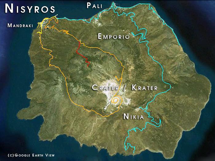 Les voyages sur Nisyros