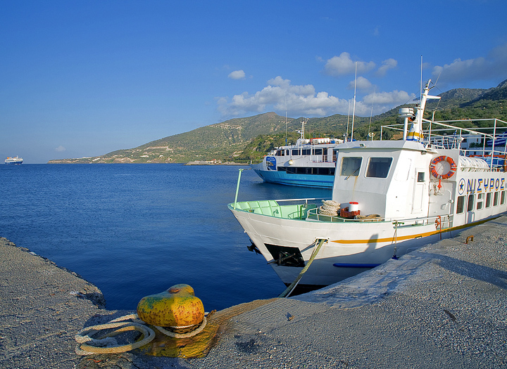 If you like, you can return to Piraeus (and Athens) by a ferry boat