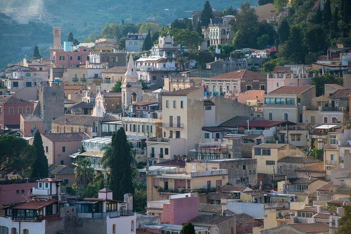 The historic Sicilian town of Taormina