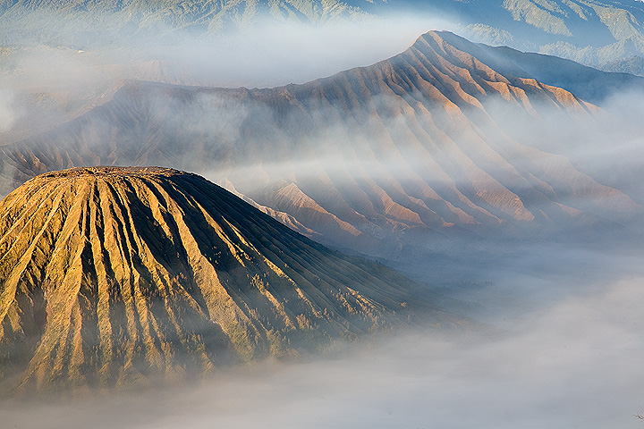 Fog in the Tengger caldera