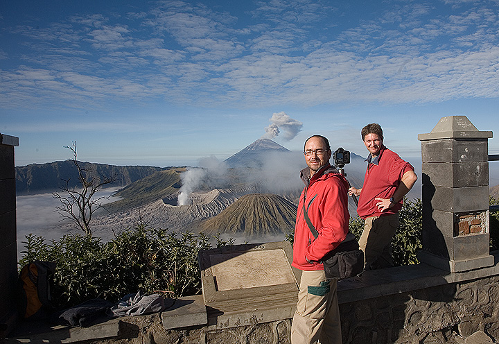 The viewpoint over the Tengger caldera
