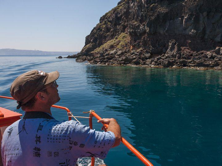 Bootsfahrt auf unserem Kaiki