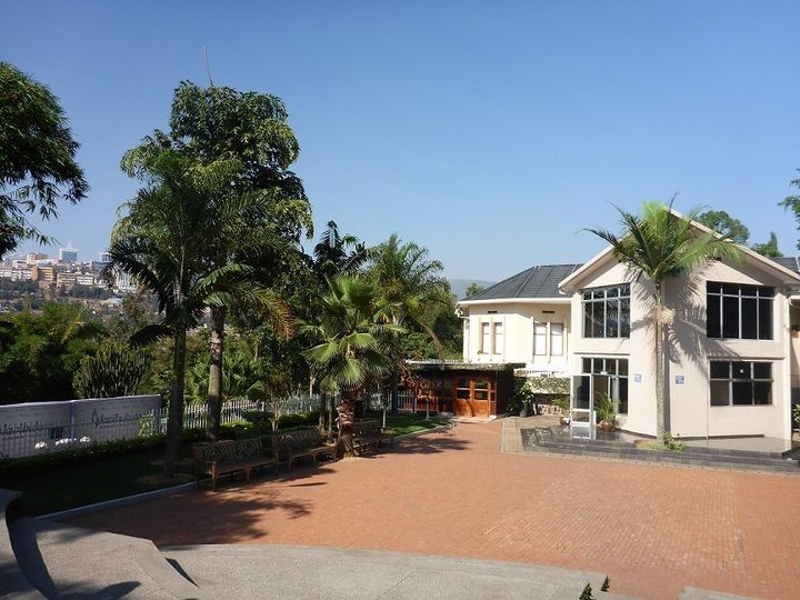 The main exhibition centre at the Kigali Genocide Memorial