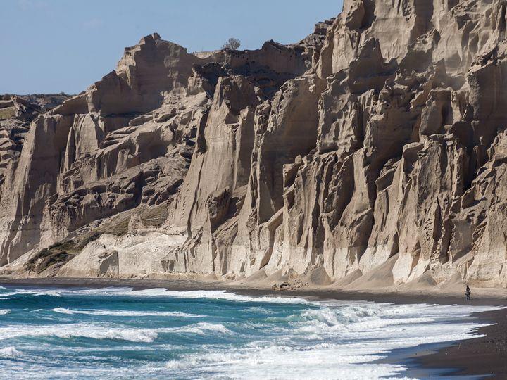 Die Küste bei Vlychada