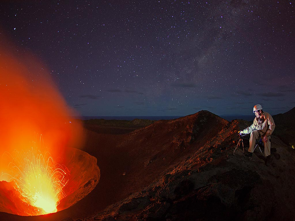"Who has not dreamt of travelling around the world? Volcano Discovery makes this dream come true. You'll follow a knowledgeable, enthusiastic volcanologist on an ""ever westward journey"" to explore some of the most exciting volcanoes of the planet."