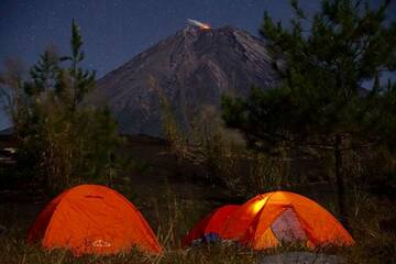 Camp am Semeru (photo: M. Fischer)