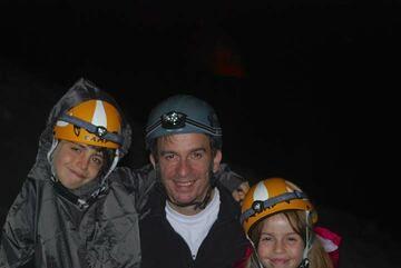 Nicolas (44), Julia (7) et Yvan (9)
