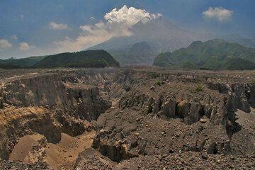 Pyroclastic deposits of Merapi