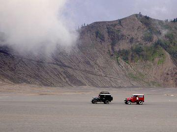 Die Wüste in der Tengger Kaldera