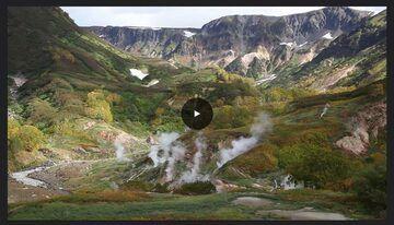 Valley of Geysers video screenshot (see link)