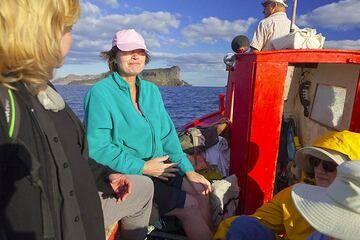 Bootsfahrt zu den Vulkaninseln