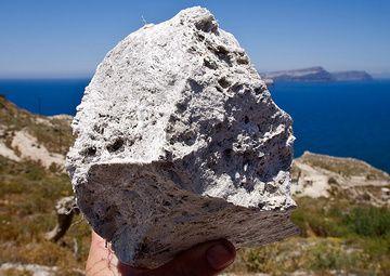 Pumice from the Greek island Santorini