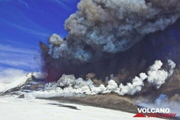 Eruption from Etna's New SE crater