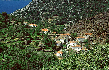 Das Dorf Kameni Chora
