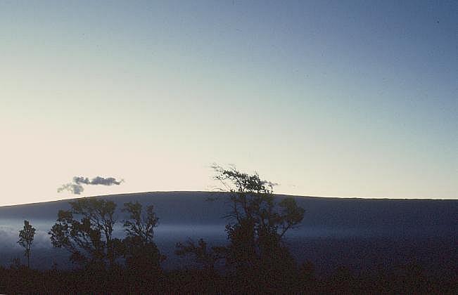 Mauna Loa Schildvulkan (Big Island, Hawaii)