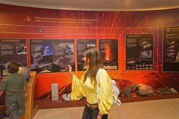 Das Vulkanmuseum in Nikia