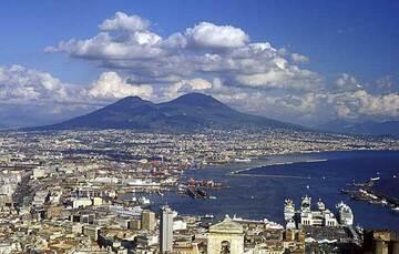 Volcan Vésuve près de Naples