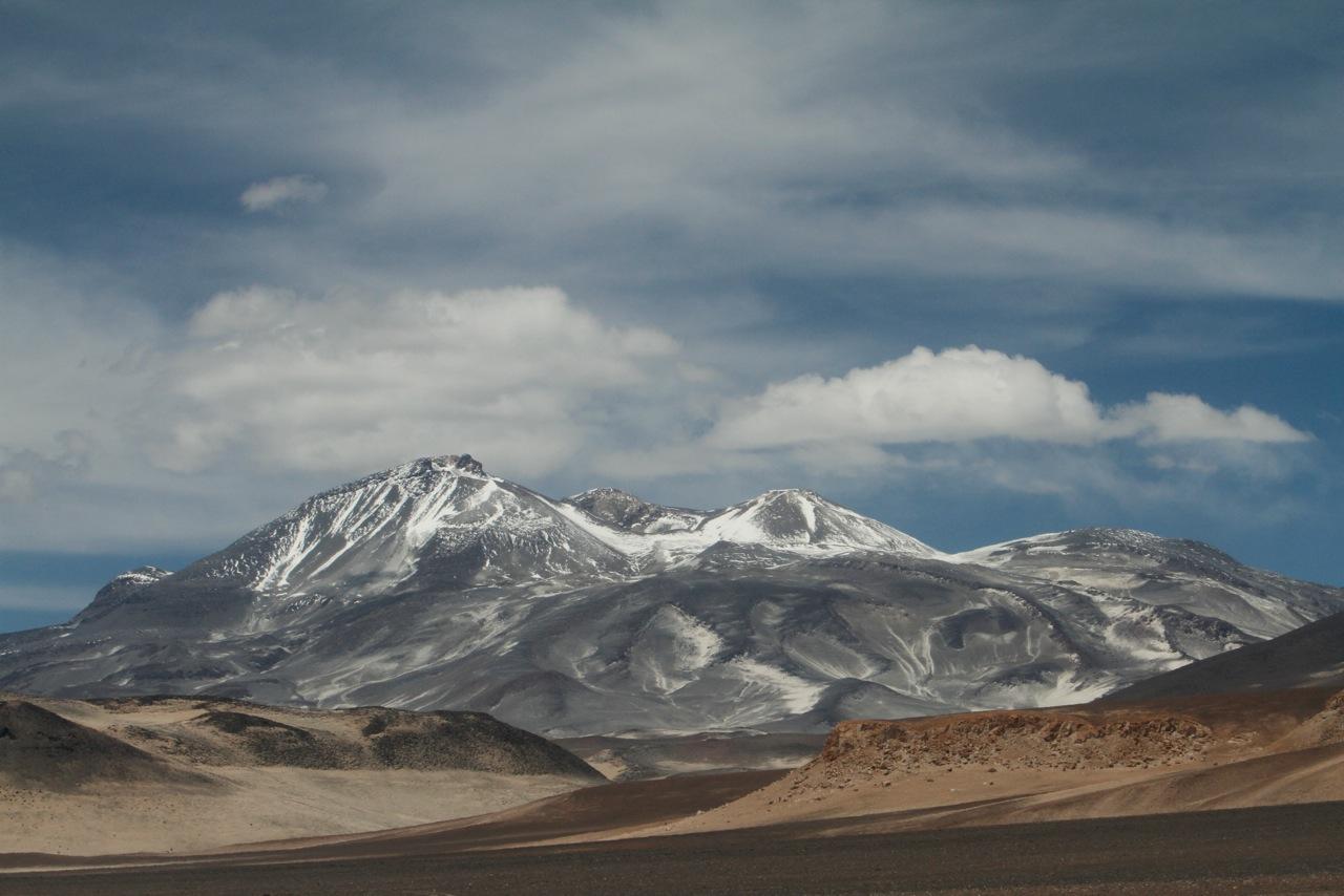 Ojos del Salado volcano in February 2012 (Photo: Ulla Lohmann)