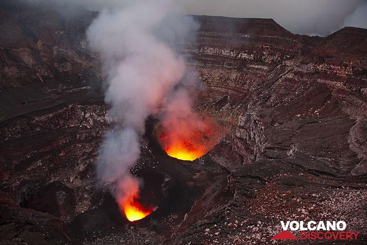 Der Krater des Benbow (Ambrym)