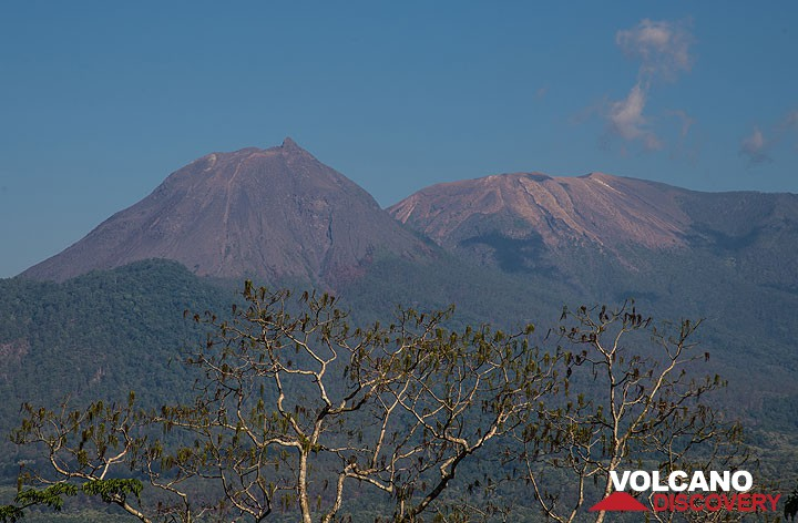 Lewotobi Lakilaki and Lewotobi Perempuan twin volcano