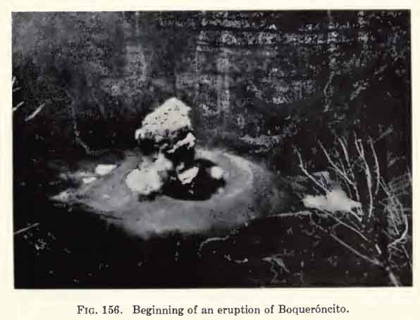 Eruption from Boqueroncito (from Kumar, 1957)