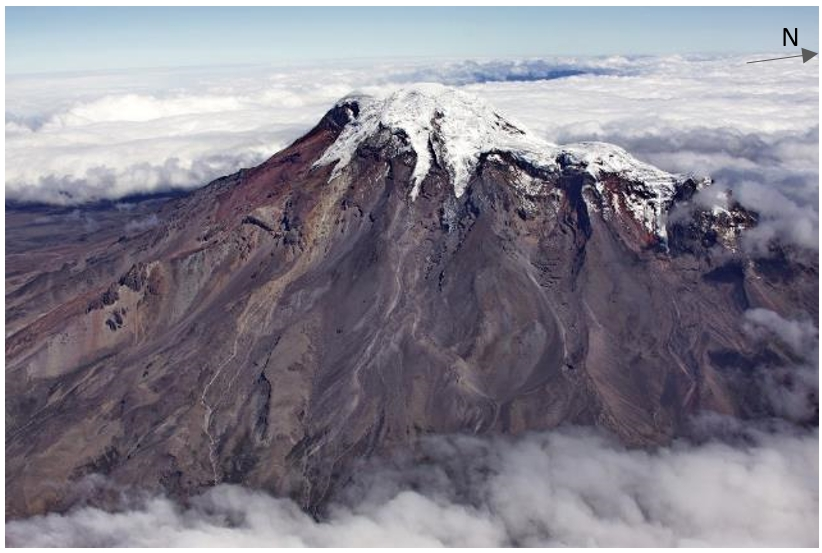 View of Chimborazo volcano from the west (Photo: P. Ramón IG/EPN)