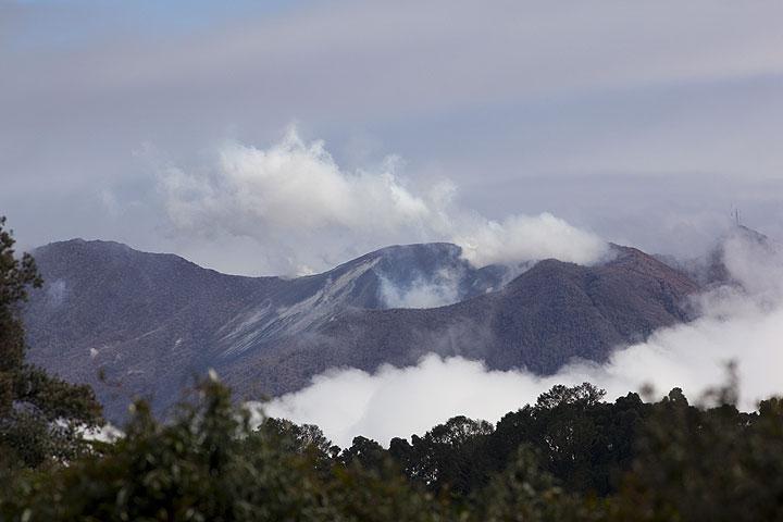 Turrialba volcano seen from Irazu