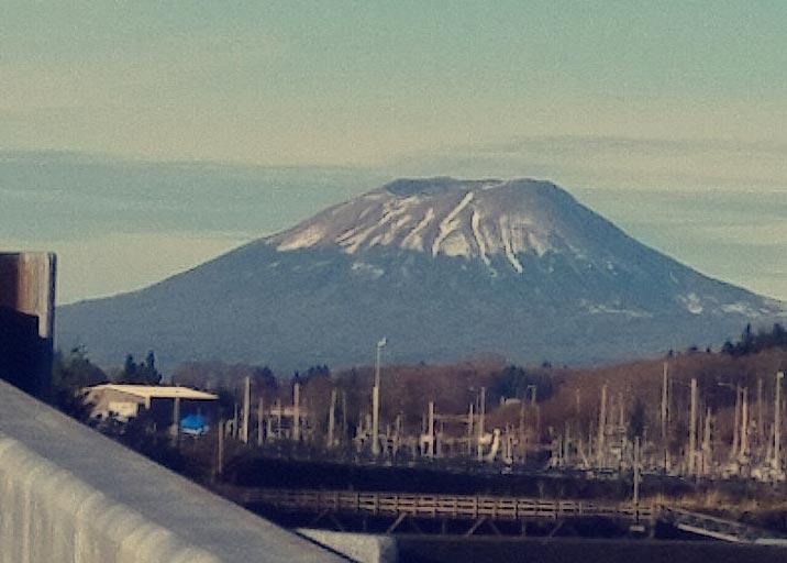 Mt. Edgecumbe volcano Sitka, AK (image taken by Fate Xalis)