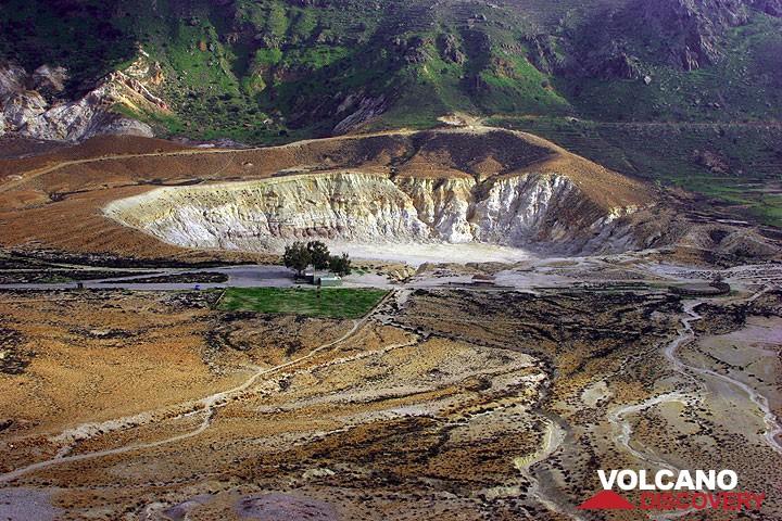 Stephanos crater of Nisyros volcano