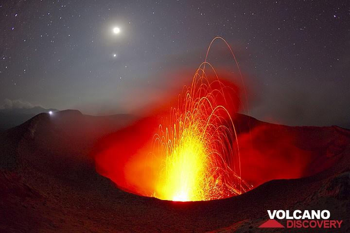 Strombolian activity at Yasur volcano